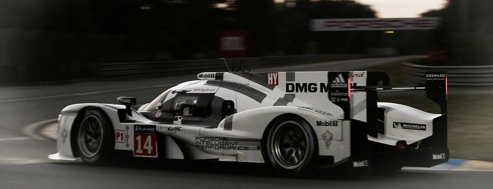 Porsche at Le Mans 2014.
