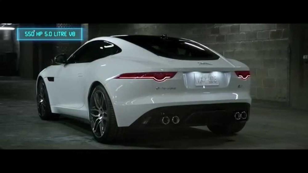 Sound like a Villain | F-TYPE Coupe | Jaguar USA