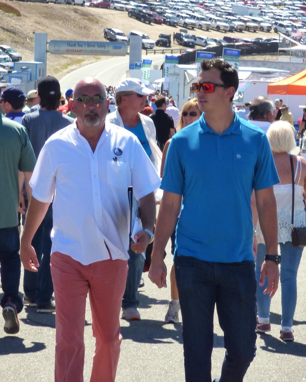 Father and son racing powerhouse, Bobby and Graham Rahal.