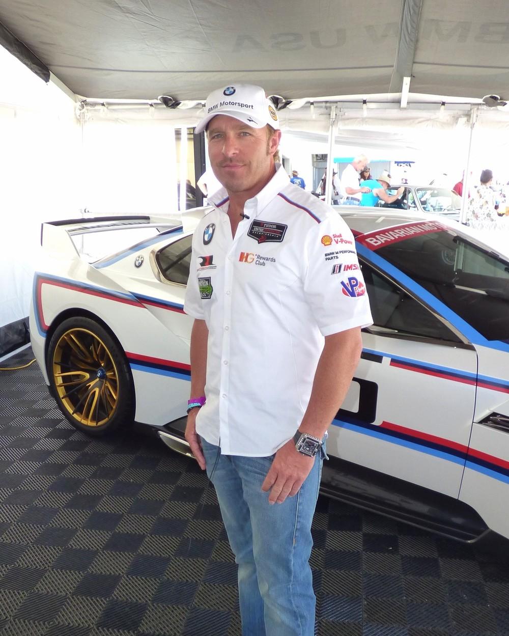 BMW racing supremo Bill Auberlen.