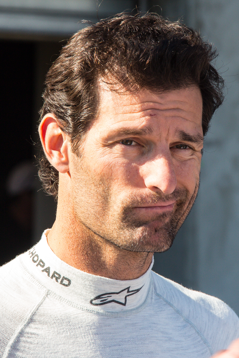 Mark Webber saw so many Porsches that he was over it.