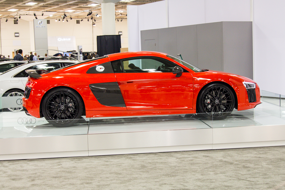 2016 Audi R8 at the San Francisco Auto Show
