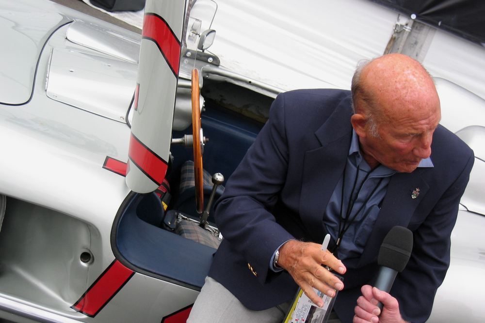 Sir Stirling Moss has a chat...