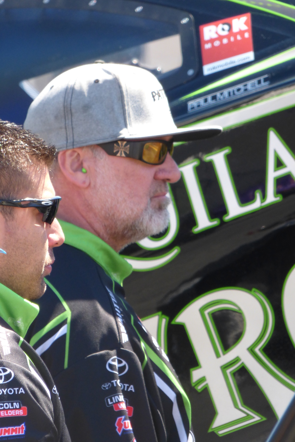 Fabricator Jesse James amid the chaos supporting his wife Alexis DeJoria
