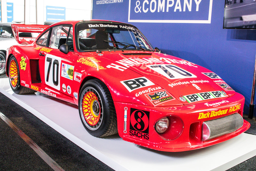 1979 Porsche 935, Overall winner of Daytona 24 Horus and Sebring 12 Hours, Driven by Paul Newman, Rolf Stommelen and Dick Barbour. Sold for $4,840,000