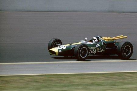 Jim Clark at '65 Indy 500