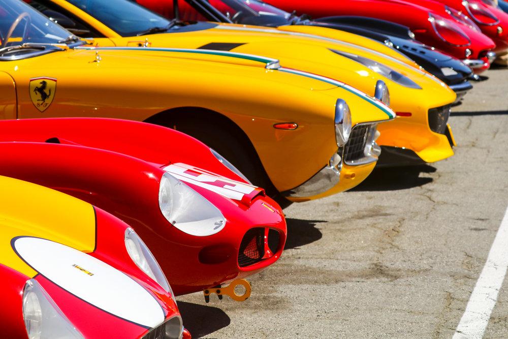 - Ferrari North America Organized an Epic Display of Vintage Ferraris