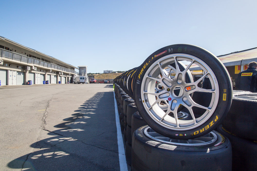 - Pirelli brought almost a 1000 tires for Ferrari Challenge racers. The first two sets are free then each invidual tire is $650-700!