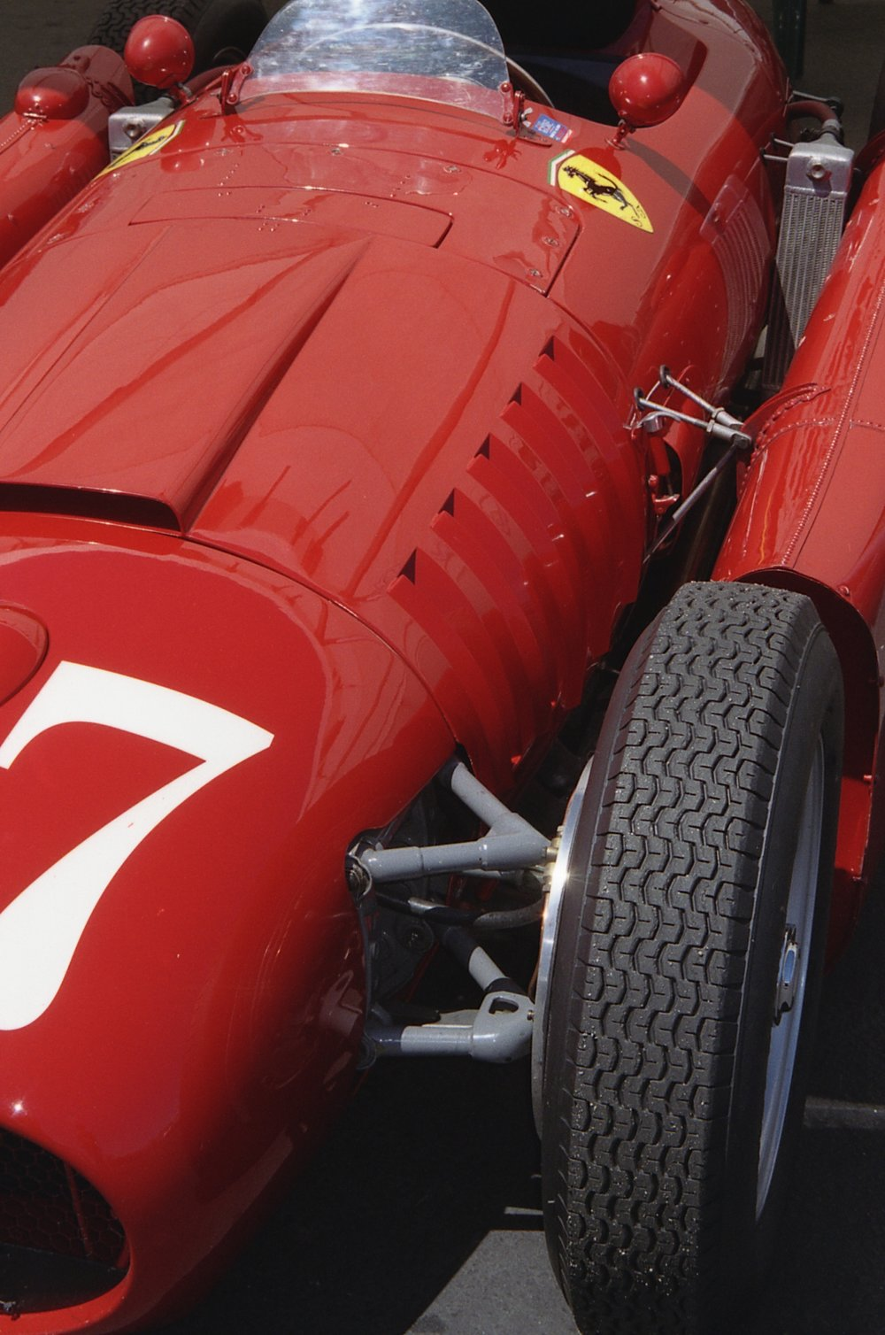 Lancia D-50 From Front Tight and Off Center Hood Vertical.JPG