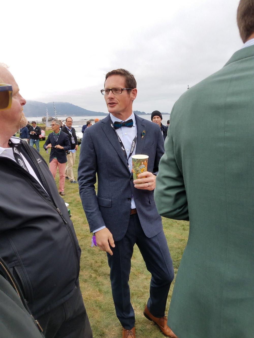 Gunnar rocking the bow tie.