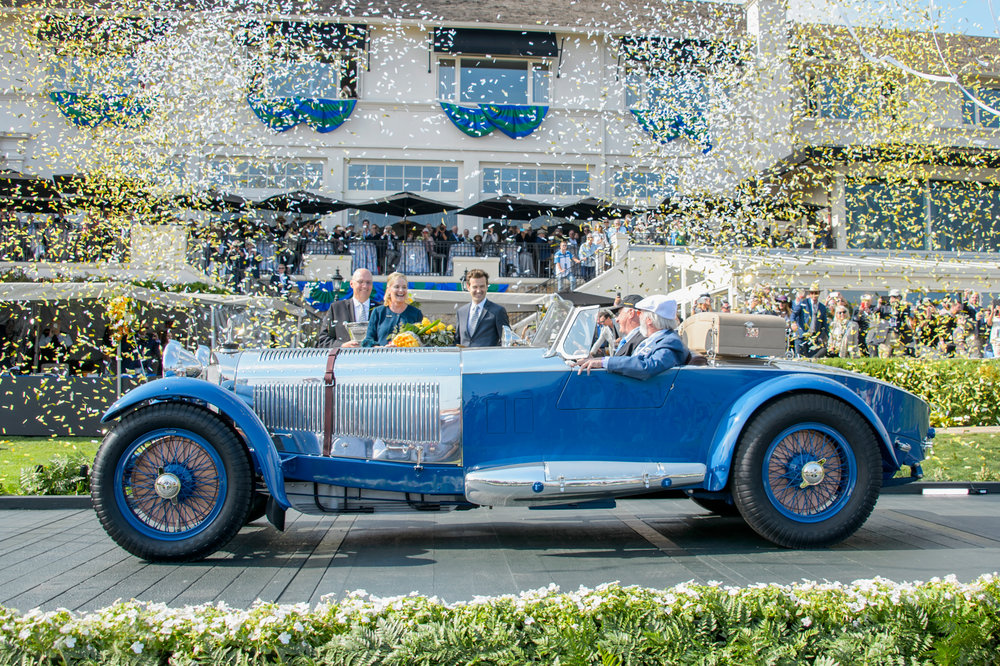 Copyright © Kimball Studios / Courtesy of Pebble Beach Concours d'Elegance