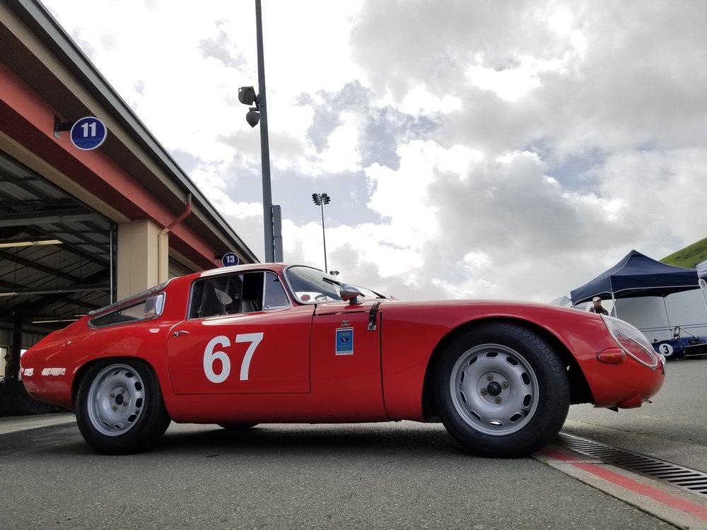 A curvy 1965 Alfa Romeo TZ1