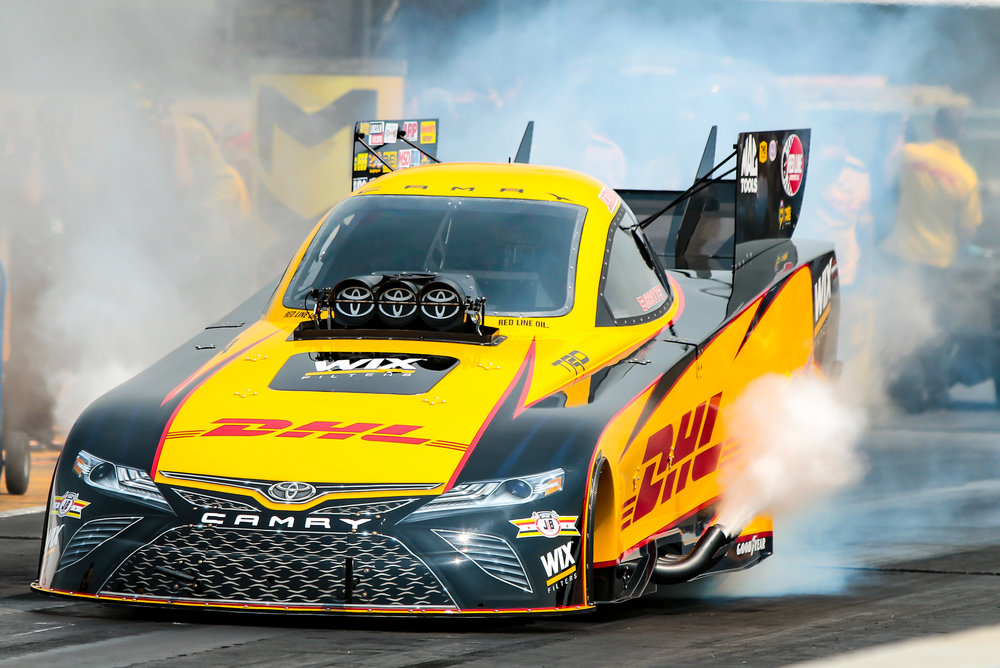 This is not yourneighbor's Camry. - J.R. Todd in the DHL Toyota Camry