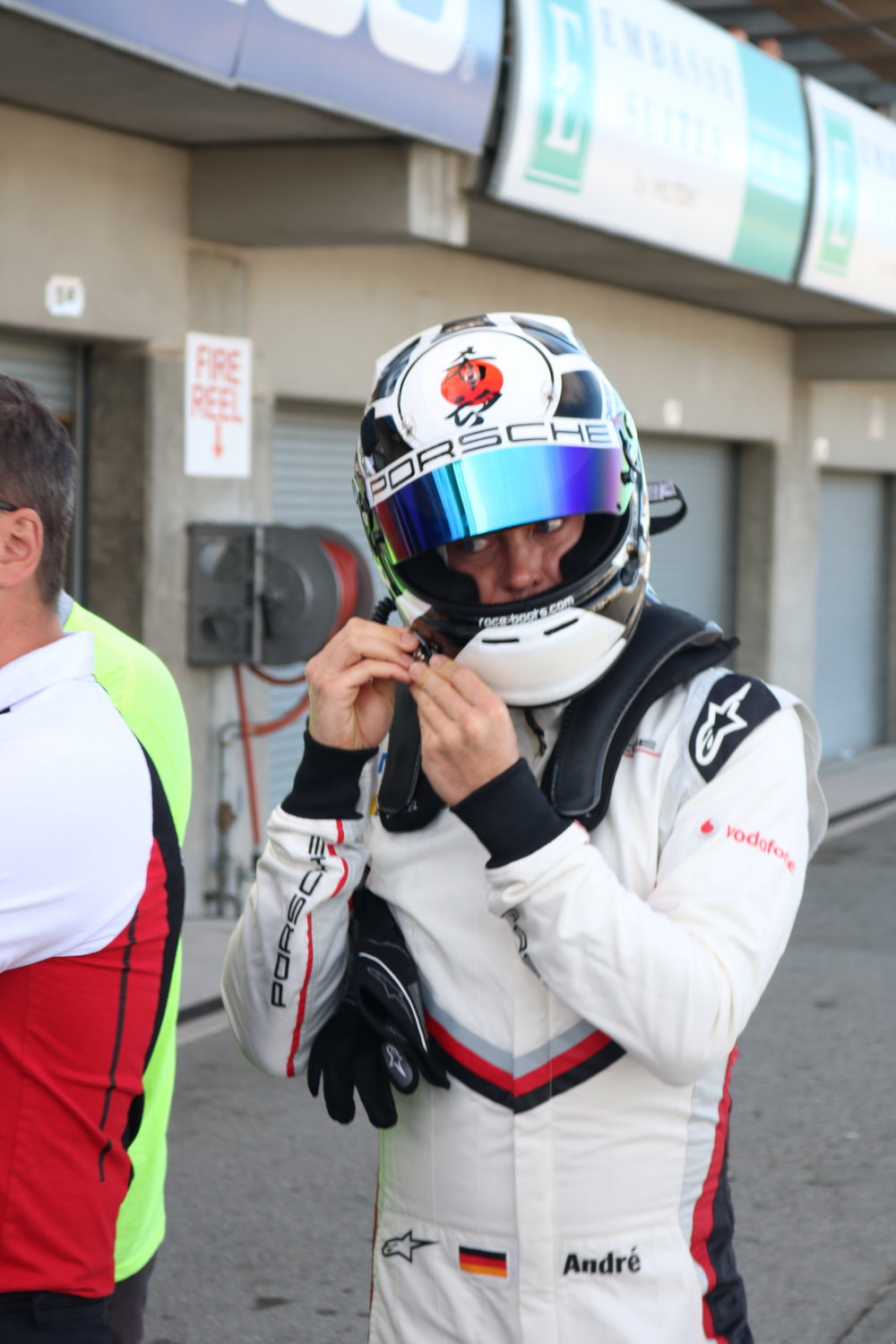 Andre Lotterer prepares for launch