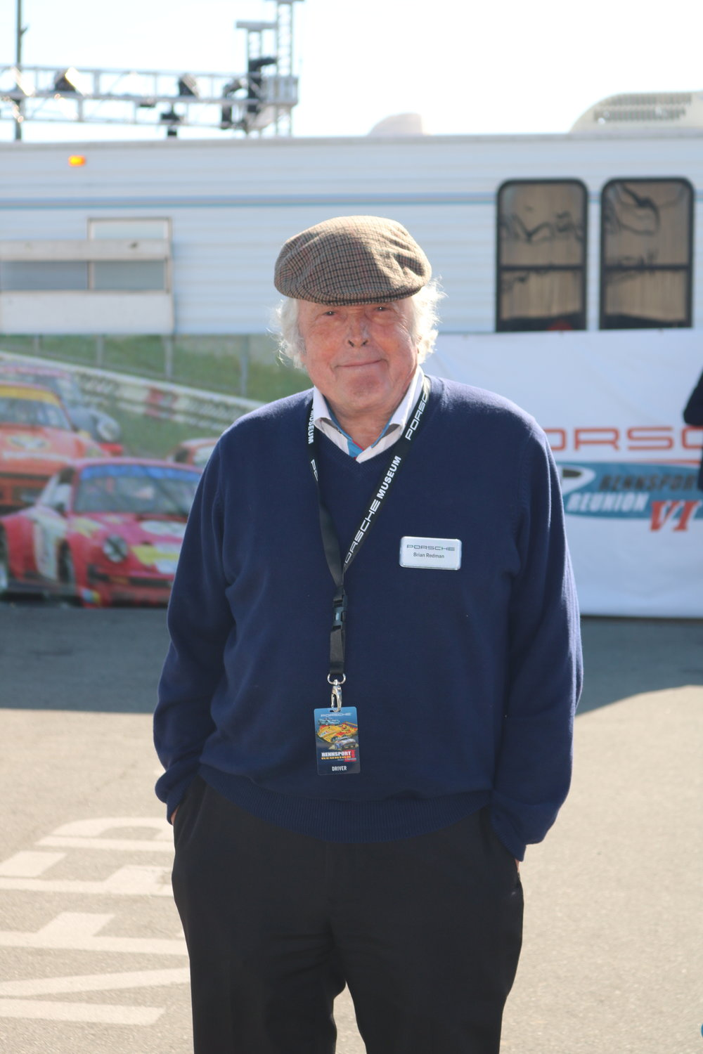 Porsche racing legend and Rennsport mastermind Brian Redman