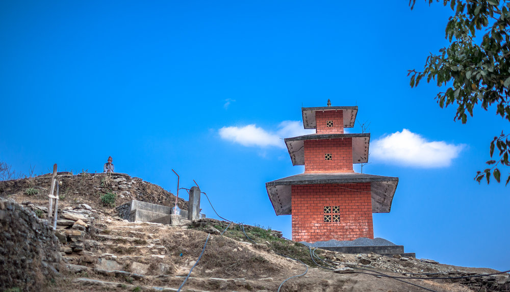 This shot is from my hike up to the white Stupa you can see from the bottom of Phewa Lake in Pokhara.