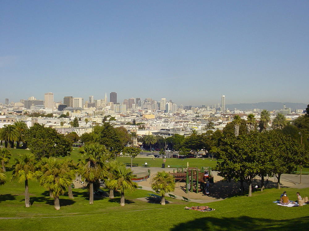 Dolores Park - San Francisco, CA