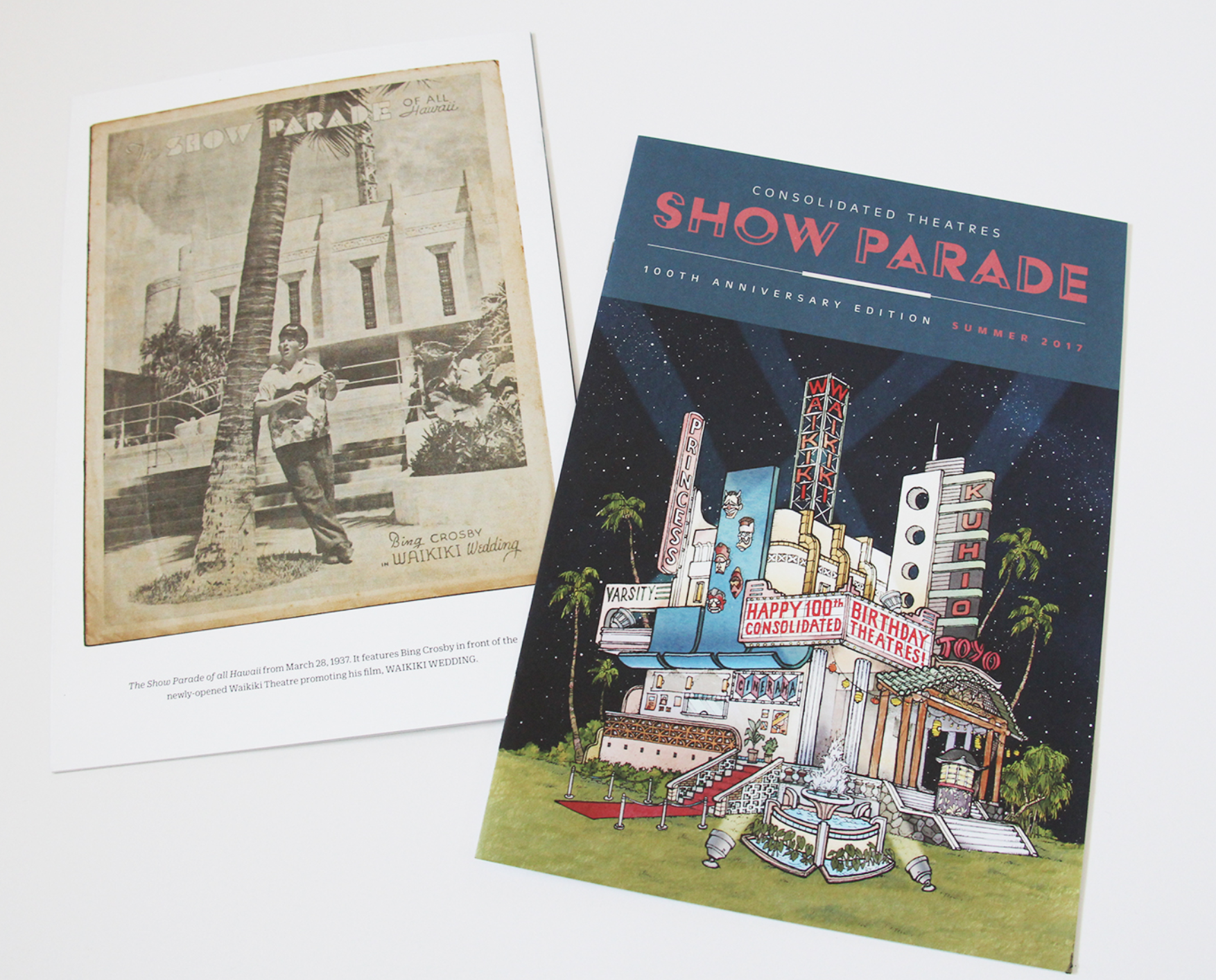 7fde844d Consolidated Theatres: Show Parade (AIGA Hawaii's 5-0 Award of Excellence)