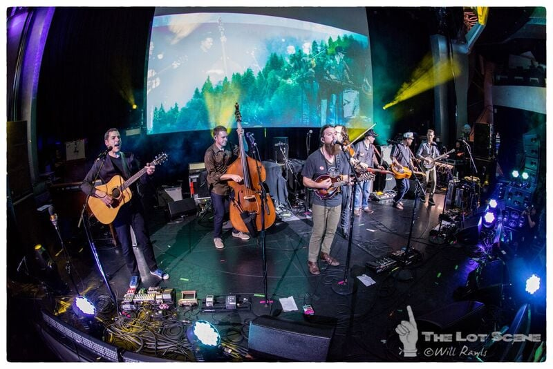 The Stringdusters with Paul Hoffman and Anders Beck