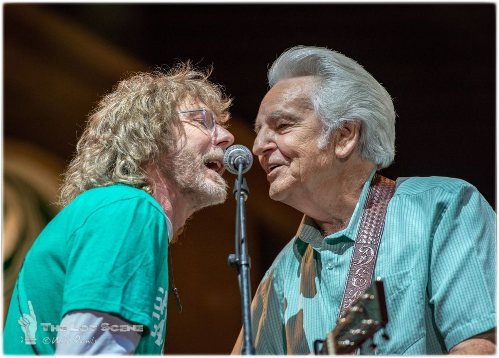 Sam Bush with Del McCoury