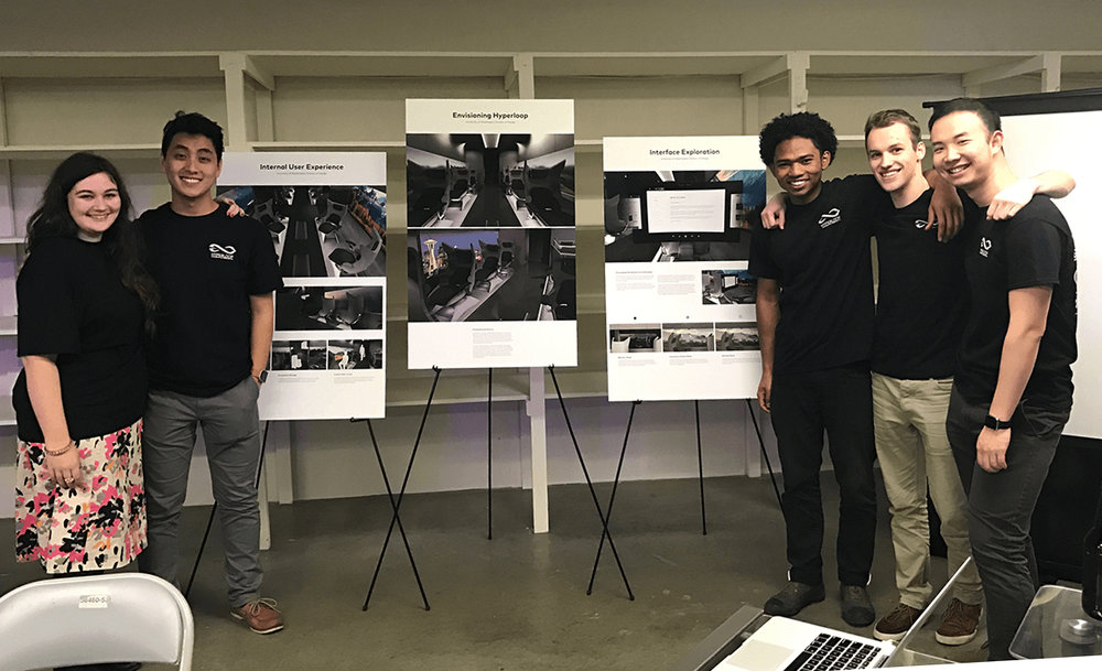 We recently compiled our work into 3 posters for a presentation at UWashington Hyperloop's local press reveal on Jan 19th.