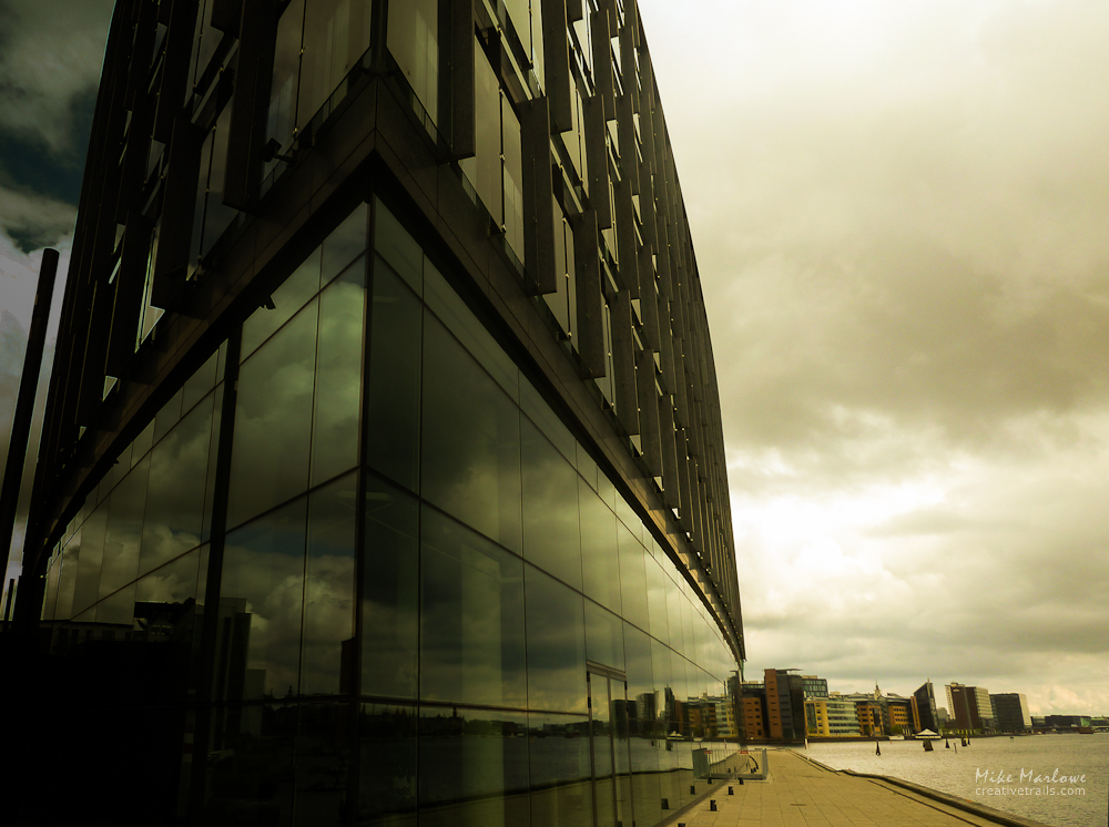 Architecture shot in Copenhagen. Travel photograph by Mike Marlowe