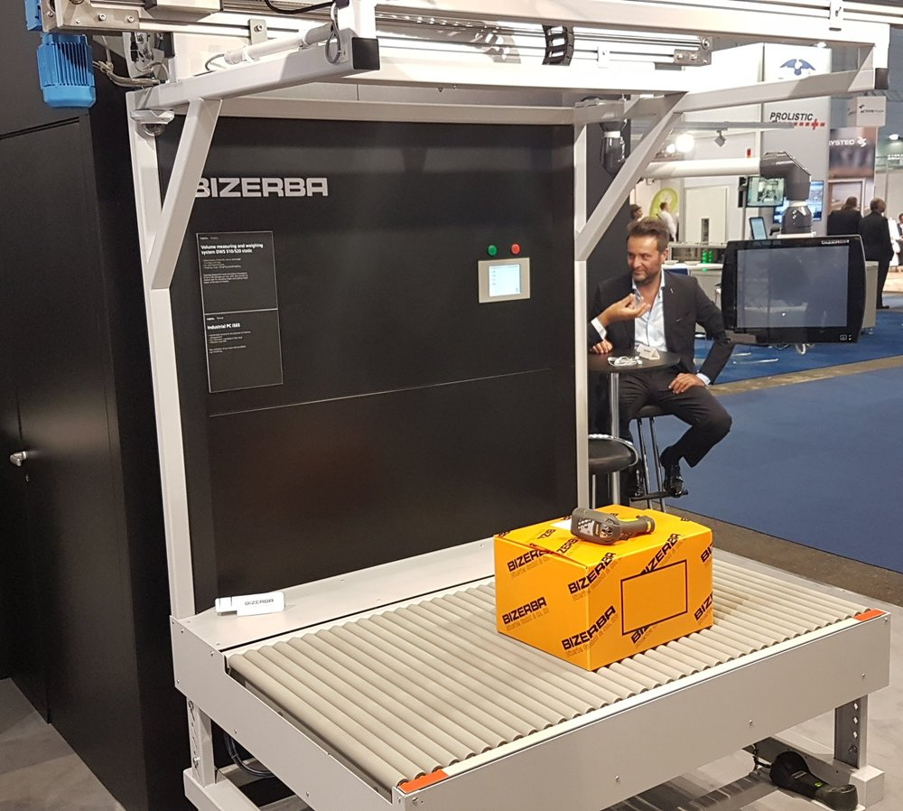 Volumetric scanning system from Bizerba
