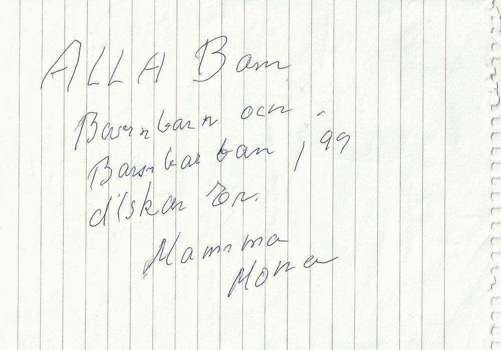 4 Januari 2011 Mona Bernalt