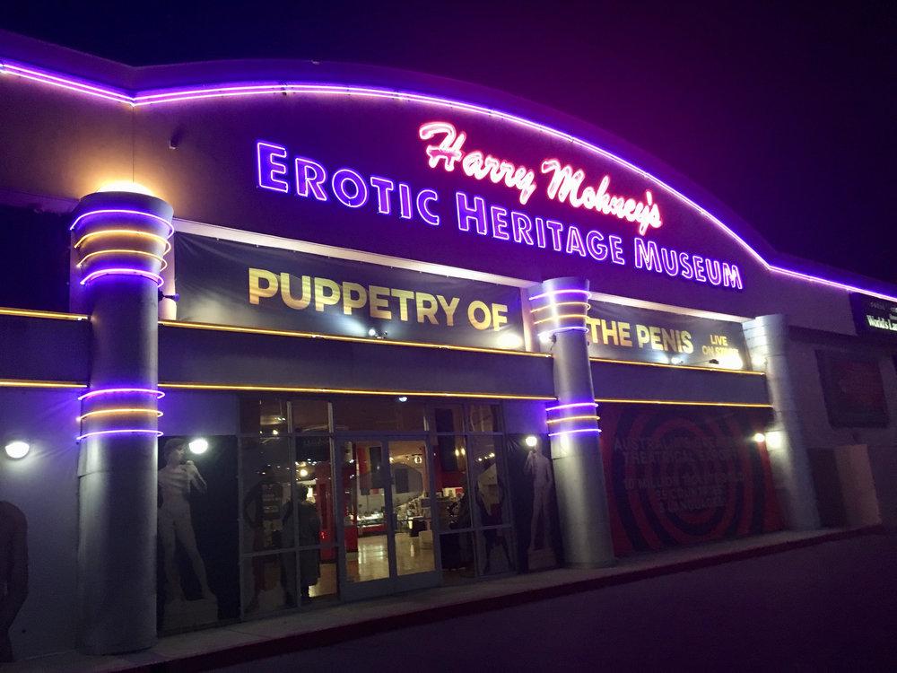 The Erotic Heritage Museum in Las Vegas, Nevada