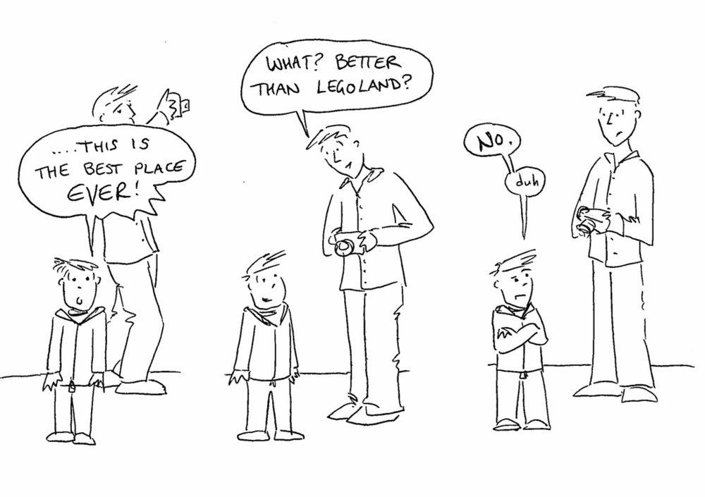 A comic by Attendants View