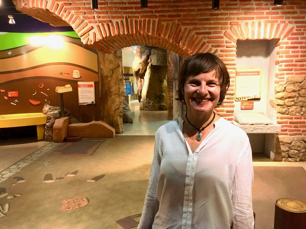 Vessela Gercheva, the Programs and Exhibits Director at Muzeiko