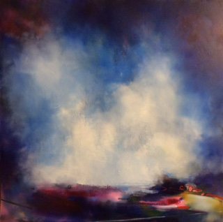 Moorland Memories - 100cm by 100cm