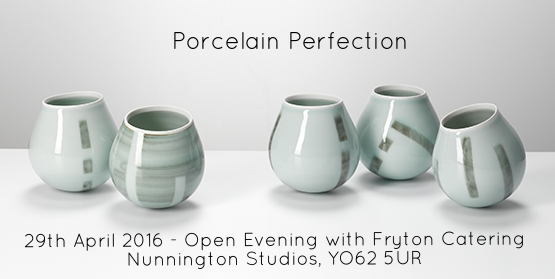 Chris Keenan forms a part of our latest show, high on porcelain ceramics.