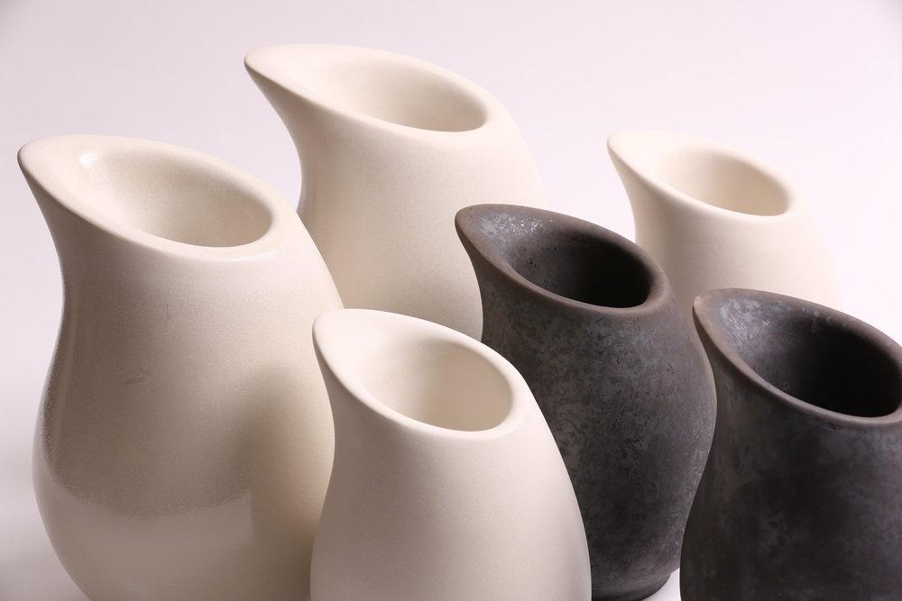 Kate Schuricht Ceramics - Kateschuricht.comDroplet Vessels