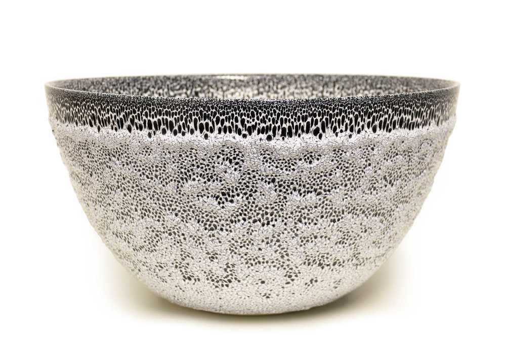 Albert Montserrat - Blue/White Bowl