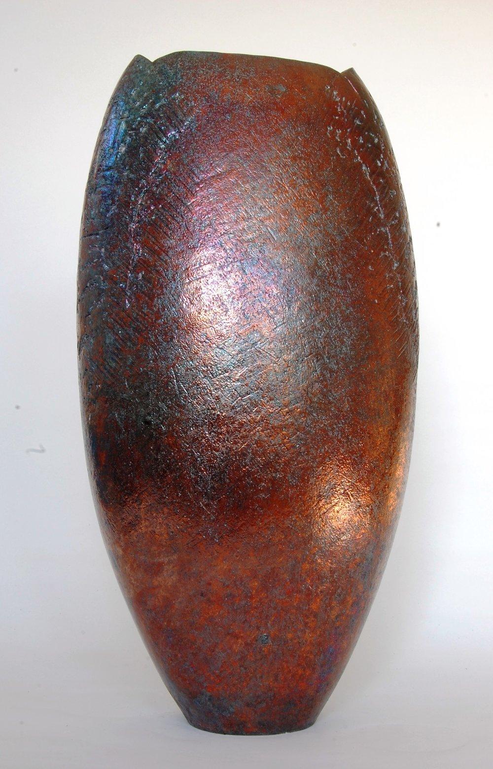 Tall Lustred Vessel - £1100.00