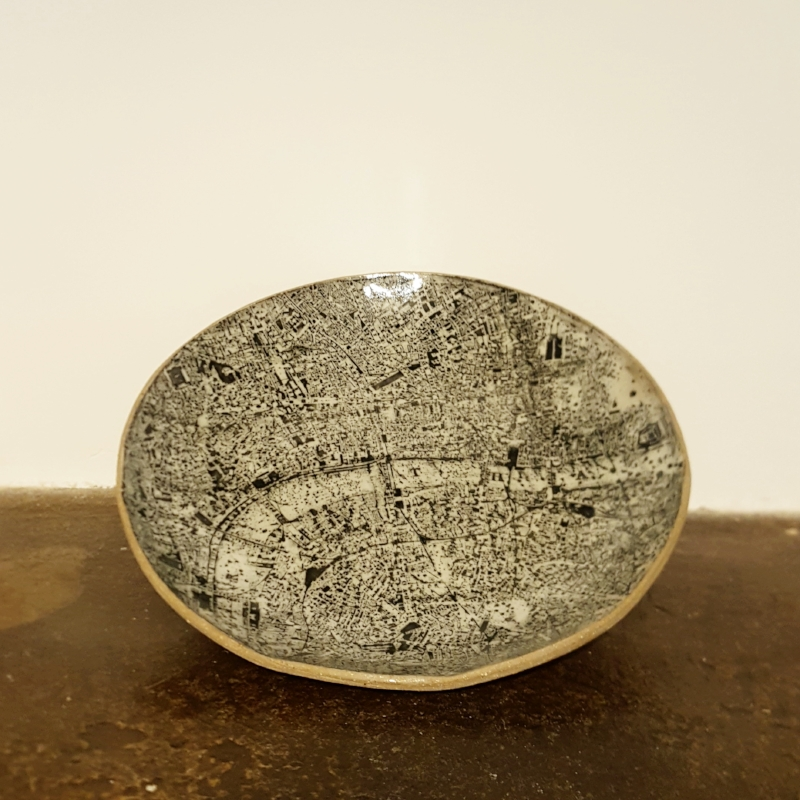 London Map Plate - £95.00