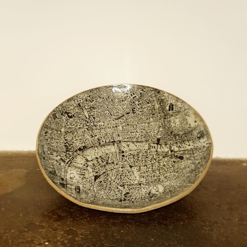 London Map Plate - £95.00