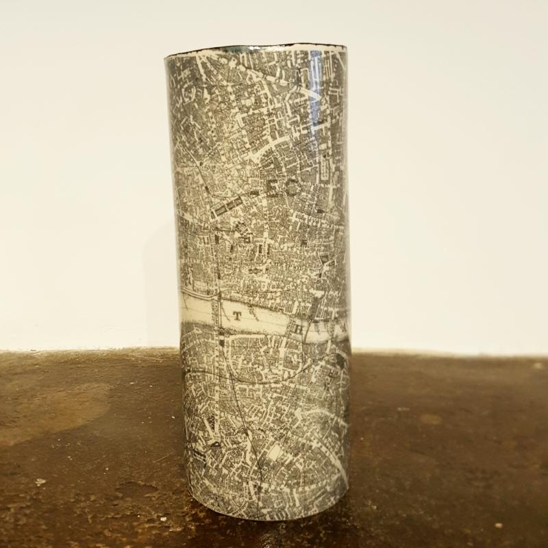 London Map Vase - £95.00