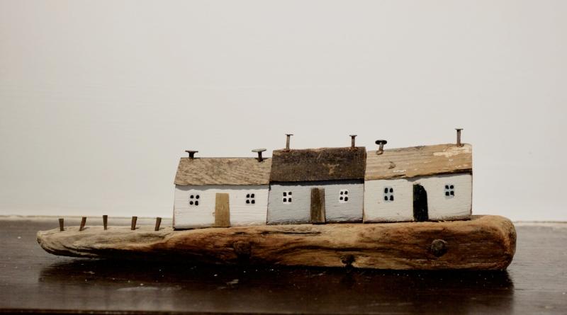 Kirsty Elson - Huddled Cottages - SOLD
