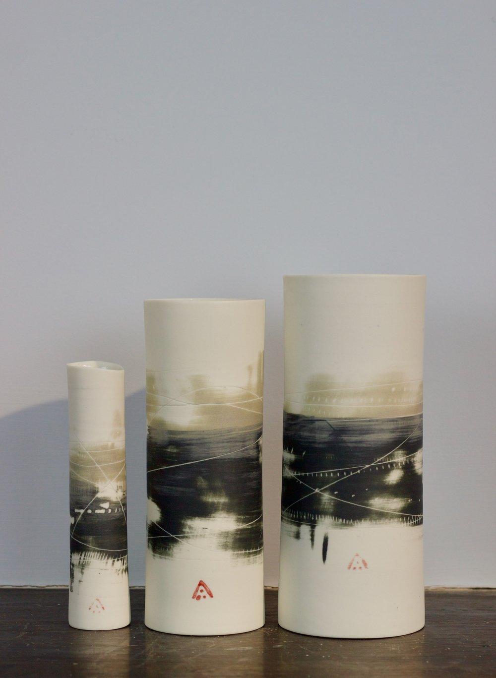Ali Tomlin Cylinders Black & Olive