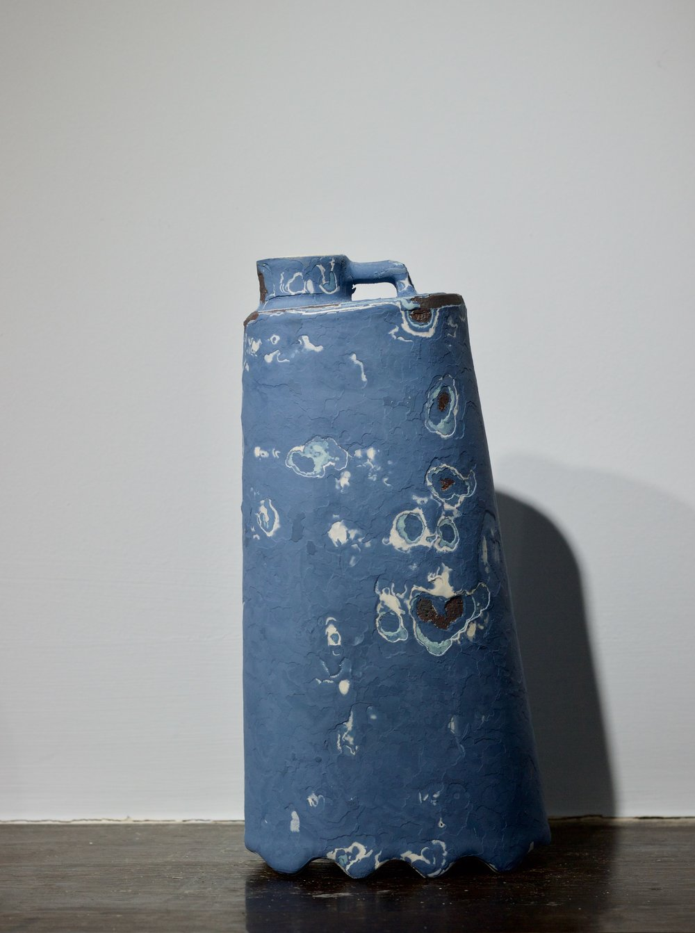 James Faulkner - Big Blue Bottle Vase