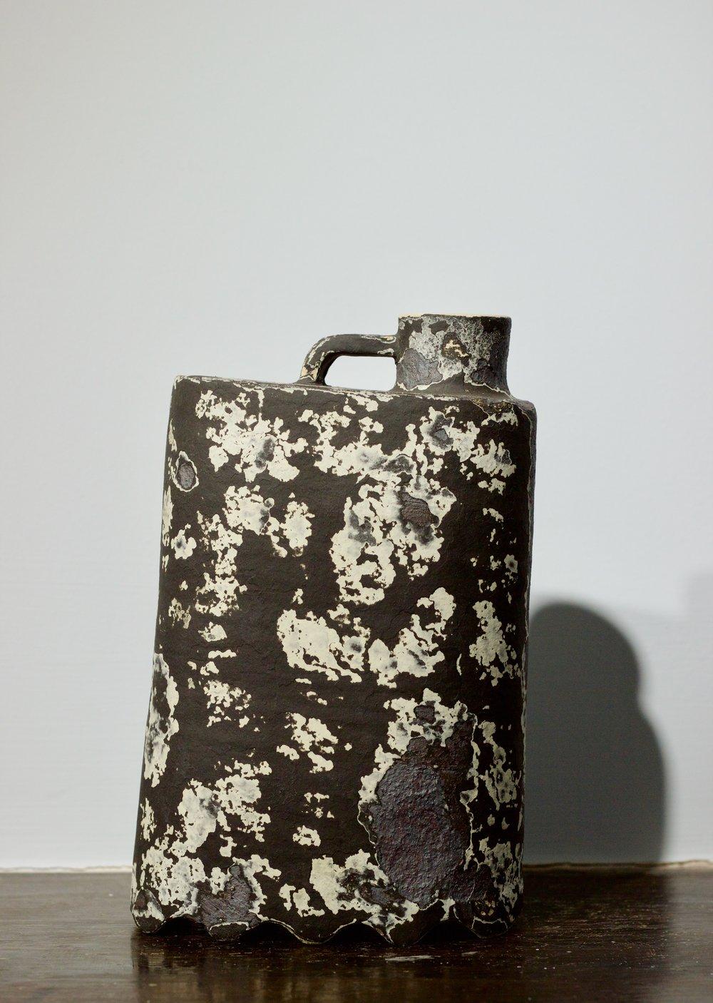 James Faulkner - Black Bottle Vase