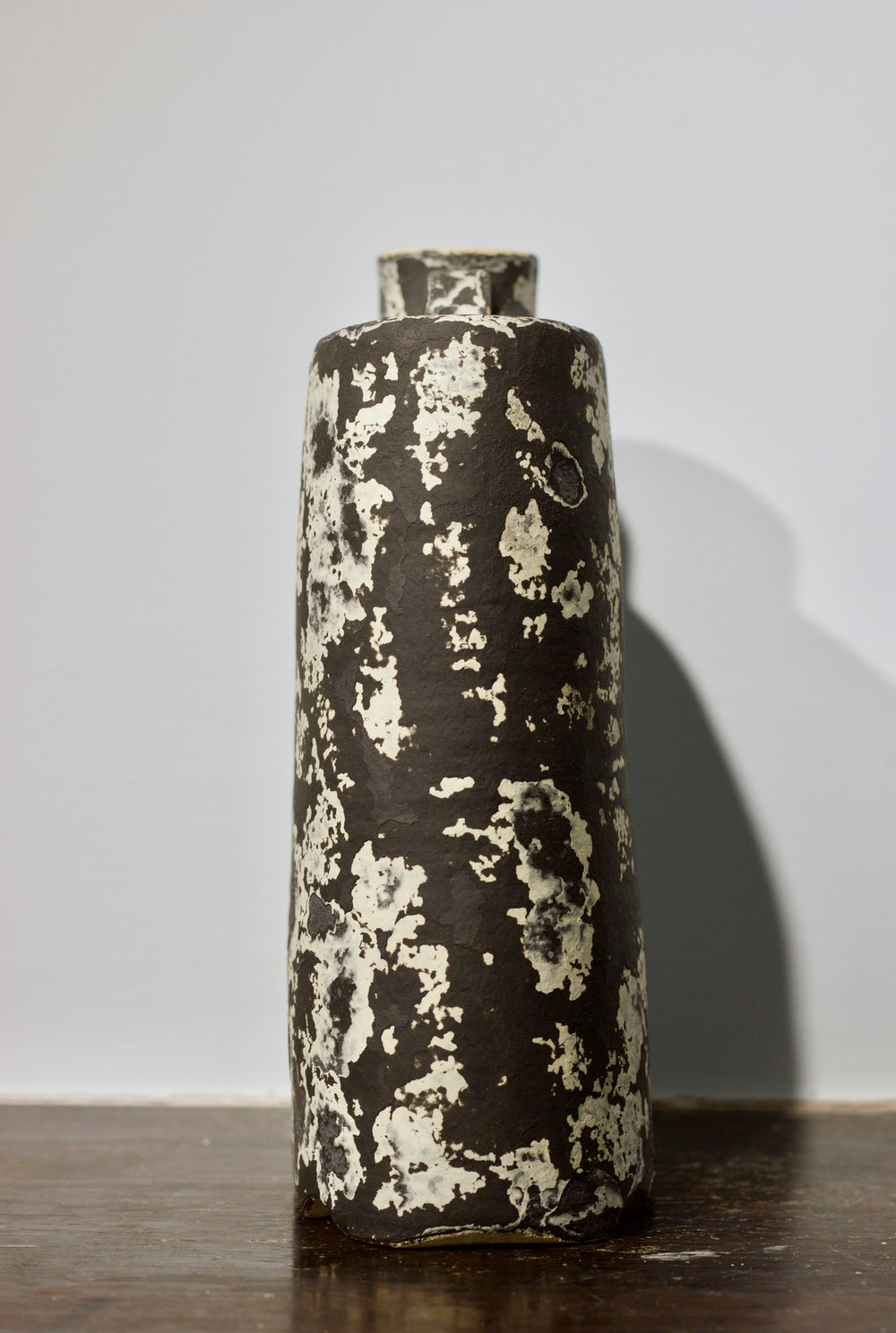 James Faulkner - Black Bottle Vase