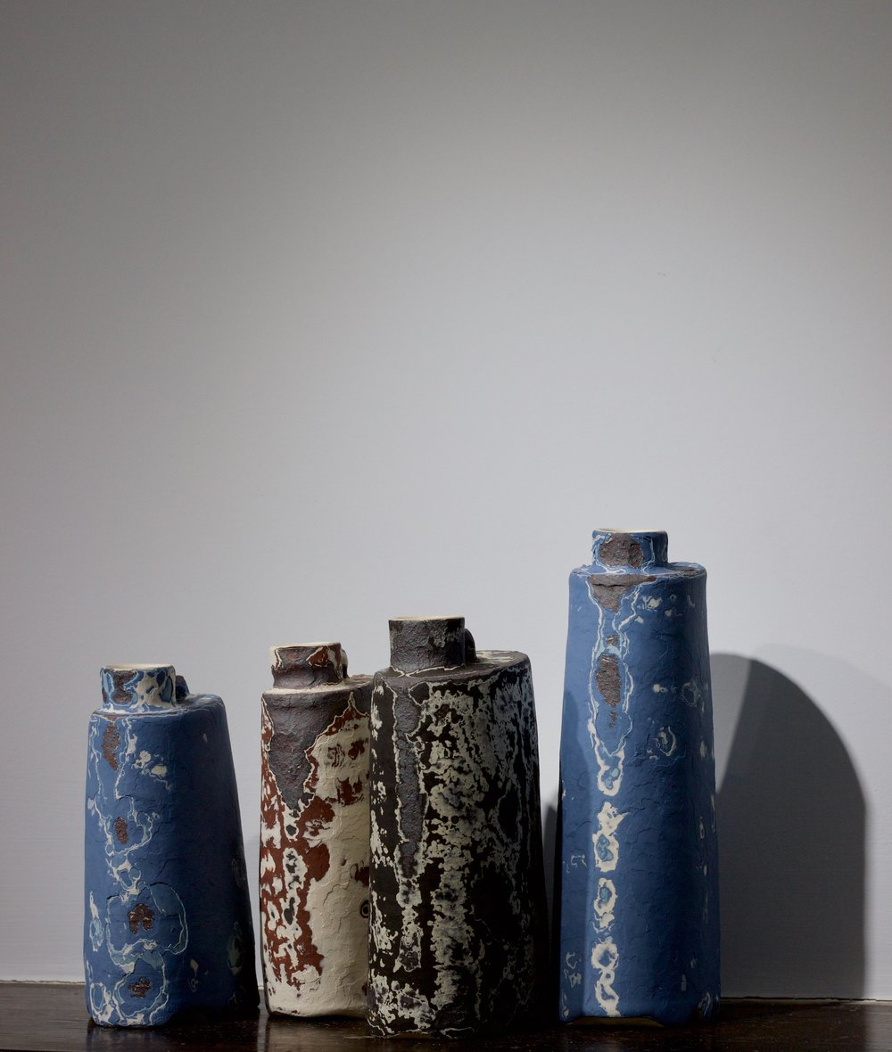 James Faulkner - Bottle Vases