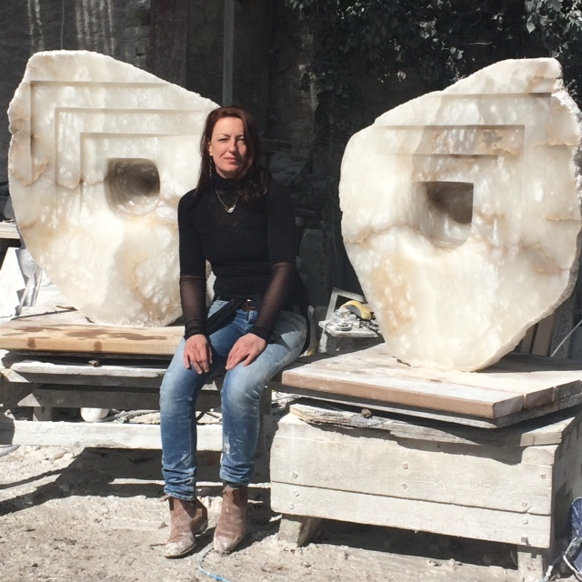 Mel has worked in Carrara... Italy