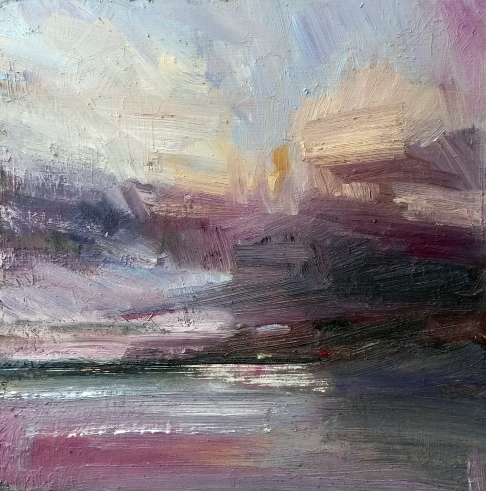 Watching The Storm Approach - £950.00