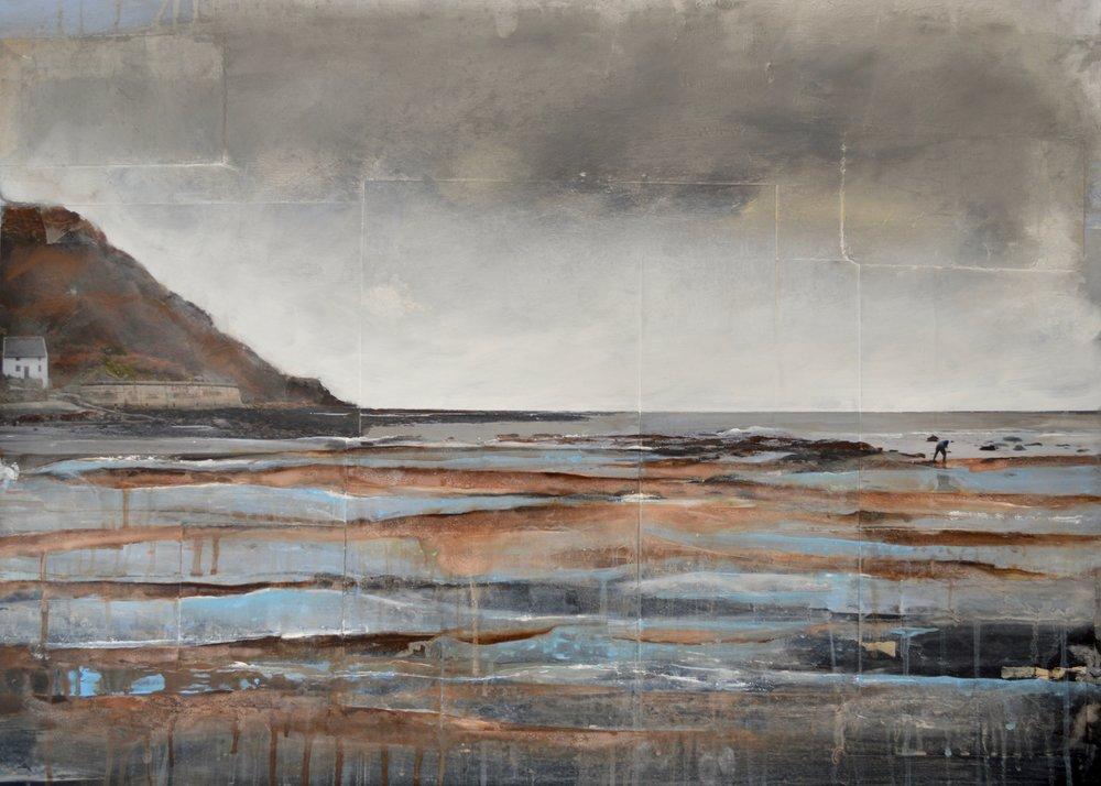 Harriet Peachey - Runswick Bay - 93cm by 63cm - £1200.00