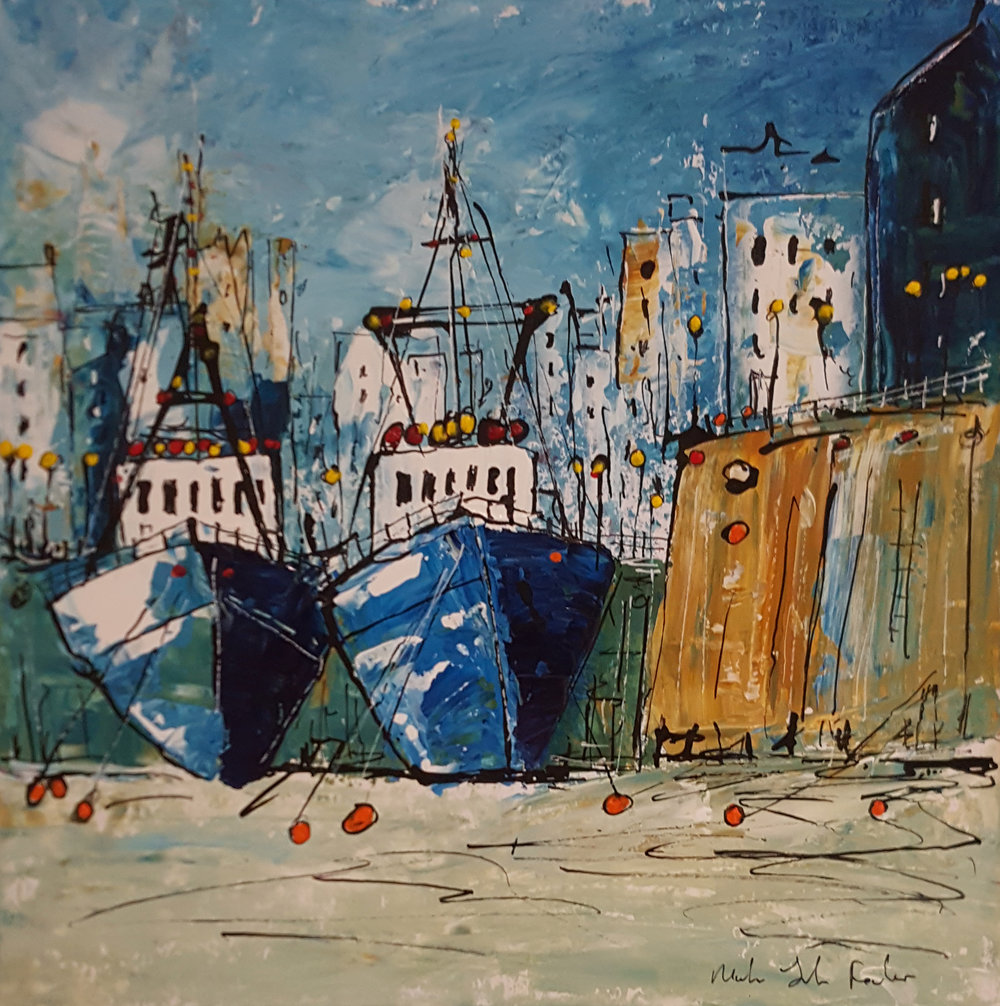 All Ready To Sail - SOLD