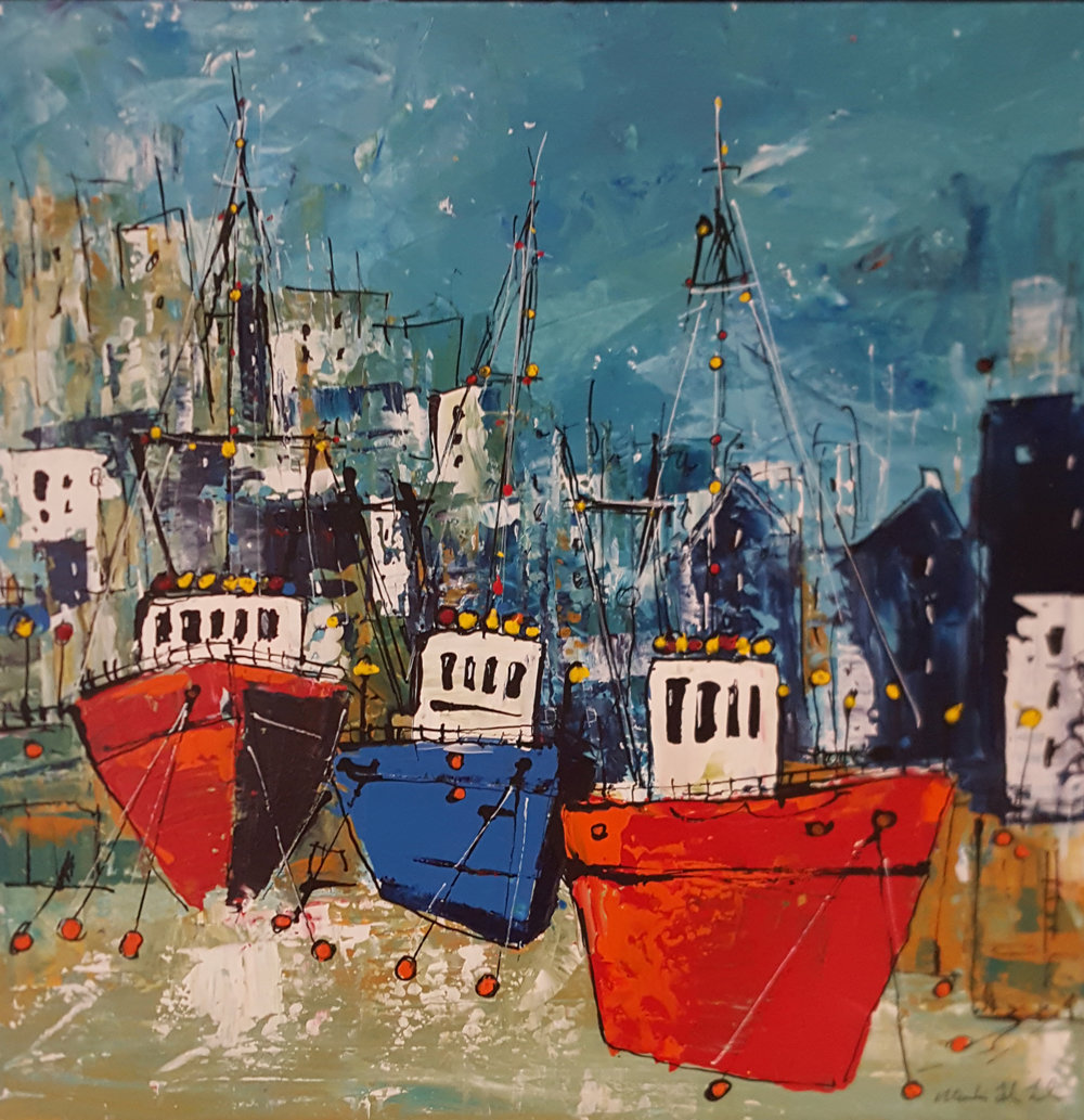 Harbour Side, First Light - £375.00